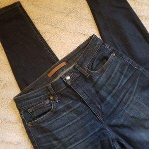 Joe's Jeans High Rise Skinny Jeans Dark Wash
